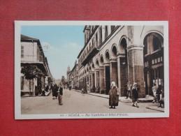 Algeria >  Medea  Rue  Gambetta Et Hotel D'Orient       -------ref 1426 - Medea