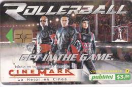 El Salvador, ELS-PUB-052, Cinemark, Rollerball - Coleccionable 2, 2 Scans. - El Salvador