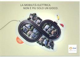 PROMOCARD N°  9722   ENEL L' ENERGIA CHE TI ASCOLTA STAMPATA SU CARTA NORMALE - Reclame