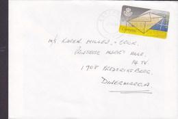 Spain ESTEPONA Malaga 1994 Cover Letra Denmark ATM / Frama Label - Poststempel - Freistempel