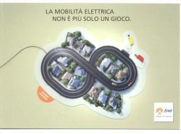 PROMOCARD N°  9722   ENEL L´ ENERGIA CHE TI ASCOLTA STAMPATA SU CARTA RICICLATA - Reclame