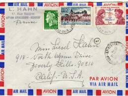1990 Carta Aerea Strasbourg 1975 Francia - Aéreo