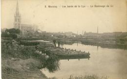 Wervik / Wervicq - Les Bords De La Lys - Le Rouissage Du Lin - 1915 - Feldpost ( Verso Zien ) - Wervik