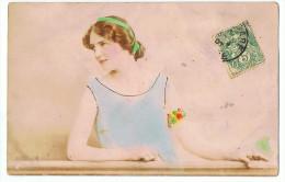 Femme Art Déco  1131/4   Post Card - Illustrators & Photographers