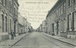 Poperinge - Stationstraat - 1915 ( verso zien )
