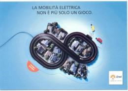 PROMOCARD N°  9744   ENEL L' ENERGIA CHE TI ASCOLTA - Reclame