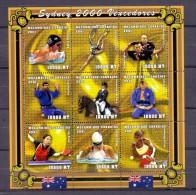 MOCAMBIQUE STAMPS SYDNEY OLYMPIC GAMES -MNH-COMPLETE SET - Summer 2000: Sydney