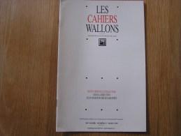 LES CAHIERS WALLONS N° 3 1996 Lardinois Metten Hendschel Matterne Conte Poète Poèsie Dialecte Namur Poèmes Patois - Belgique