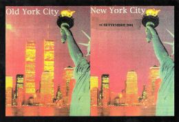 [DC0498] CARTOLINEA - NEW YORK - OLD YORK CITY - NEW YORK CITY - TORRI GEMELLE - 11 SETTEMBRE - Unclassified
