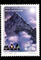 [DC0516] CARTOLINEA - RIPRODUZIONE DEL FRANCOBOLLO PER L'ANNO INTERNAZIONALE DELLE MONTAGNE - Briefmarken (Abbildungen)