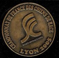 MEDAILLE CHAMPIONNAT DE FRANCE LYON 2005 SOCIETE CENTRALE CANINE - Autres