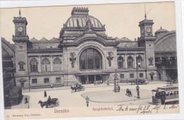 Germany - Dresden - Hauptbahnhof - Dresden