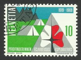 Switzerland, 10 C. 1969, Sc # 495, Mi # 895, Used - Used Stamps