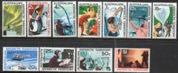 Australian Antarctic Territory 1966-1968 - Definitive Set Complete SG8-18 MNH Cat £42 SG2018 - See Scans/description - Territoire Antarctique Australien (AAT)