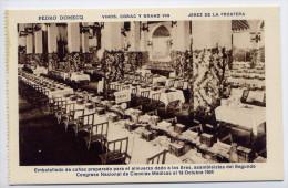 Espagne-JEREZ DE LA FRONTERA - Pedro DOMECQ-Vinos Conac Y Grand Vin-1924--conac-- 2°congreso Nal Ciencias Médicas éd HMS - Espagne
