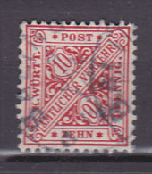 WÜRTTEMBERG 230 B, Gestempelt, Dienstmarke, Geprüft - Wurttemberg