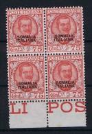 Italiana Somalia: 1926  Sa 98  , Mi. 99, MNH/**, Sheetmargin, Cat Value Sa  € 1600 +++ - Somalia