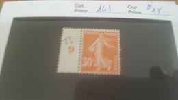LOT 215508 TIMBRE DE FRANCE NEUF* N�141 VALEUR 15 EUROS