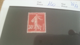 LOT 215510 TIMBRE DE FRANCE NEUF** N�160 VALEUR 17 EUROS
