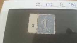 LOT 215511 TIMBRE DE FRANCE NEUF* N�132 VALEUR 84 EUROS