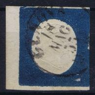 Italy  Sardegna 1854  Sa  8 , Mi. 8  Used Obl. Signed/ Signé/signiert/ Approvato  3x - Sardaigne