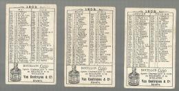 "- . CIBILS  """"  Volledige Reeks : """" Cyrano De Bergerac + JAARKALENDER 1902 - Calendriers"