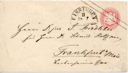 ALLEMAGNE BAVIERE ENTIER POSTAL  KISSINGEN - Stamped Stationery