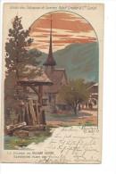 Publicité Union Des Fabriques De Soieries Adolf Grieder & Cie Zurich Sur Carte La Scierie Au Village Suisse Paris 1900 - ZH Zurich