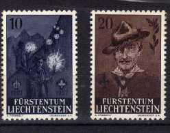 """Liechtenstein (1957)  - """"Scoutisme""""  Neufs* - Liechtenstein"""