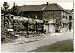 E3769  - FOURON - SAINT - PIERRE  -  Café*publicité Jupiler - SPA - Stella Artois - Martini - Coca Cola*camion* - Voeren