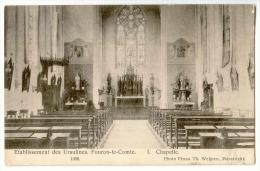 E3473  -  FOURON - LE -COMTE  -  Etablissements Des Ursulines  - 1. Chapelle  *1908* - Voeren