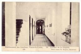 E3475  -  FOURON - LE -COMTE  -  Etablissements Des Ursulines  - 4. Corridor De La Chapelle  *1908* - Voeren
