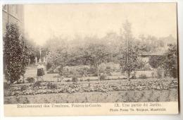 E3478  -  FOURON - LE -COMTE  -  Etablissements Des Ursulines  - 9. Une Partie Du Jardin  *1908* - Voeren