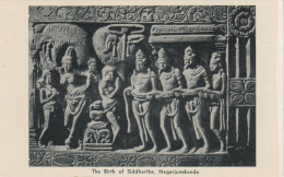 AK The Birth Of Siddhartha Nagarjunakonda Sculptures Gautama Buddha Andhra Pradesh Indien India Asien Asia - India