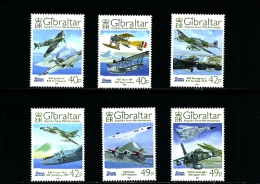 GIBRALTAR - 2008  ROYAL AIR FORCE  SET  MINT NH - Gibilterra