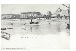 Genève, La Rade Et Le Kursaal - GE Ginevra