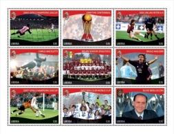 LIBERIA ; IGPC 1137 SH ; MINT N H STAMPS ( ITALIAN FOOTBALL CLUB - Liberia