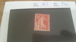 LOT 215581 TIMBRE DE FRANCE NEUF* N�147 VALEUR 40 EUROS