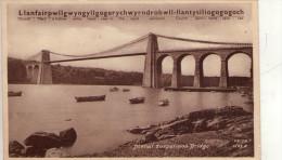 ANGLESEY  ,  Menai  Suspension Bridge    * - Anglesey