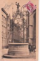 CPA Anvers - Fontaine Quinten Matsys - 1912 (7577) - Antwerpen