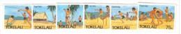 MD130 - TOKELAU 1987, Serie N. 149/154  ***  MNH - Tokelau