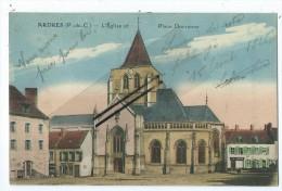 CPA - Ardres - L'Eglise Et Place Dorsenne - Ardres