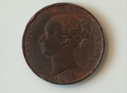 Grande-Bretagne 1 Penny 1855 - 1816-1901 : Frappes XIX° S.