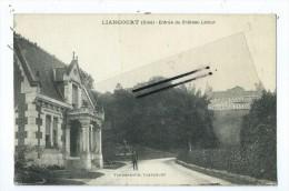 CPA - Liancourt - Entrée Du Château Latour - Liancourt
