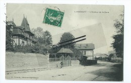 CPA - Liancourt - L' Avenue De La Gare - Liancourt