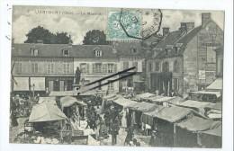 CPA - Liancourt -  Le Marché - Liancourt