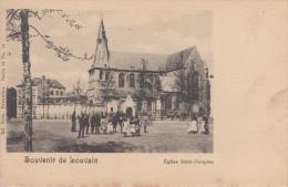 Leuven   Louvain    Souvenir De Louvain    Eglise Saint-Jacques          Scan 8087 - Leuven