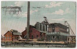 Port Arthur, ON - Iron Works, Postally Used In 1948(?), Card Is Older. - Port Arthur