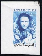 Antarctica Post Imperf Trial Printing Of Black Signature. - Stamps