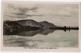 Fraser River Near Chilliwack, B.C. Older Real Photo. - British Columbia